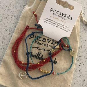 Pura vida nautical bracelet set